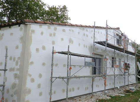 plaque de facade exterieur isolation par l ext 233 rieur pose des plaques fa 231 ade