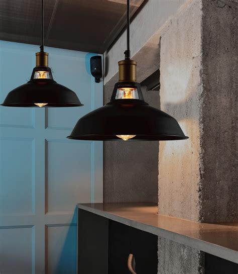 hanging ceiling lights for kitchen industrial retro vintage black pendant l kitchen bar 6987