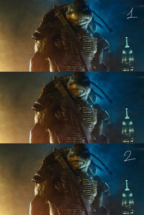 teenage mutant ninja turtles leonardo comparison
