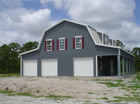 metal barn homes 94 metal garage with overhang custom metal building