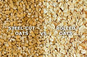 Steel Cut Oats Vs. Rolled