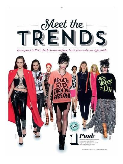 Magazine Cosmopolitan Trends Editorial Layout Trend Magazines