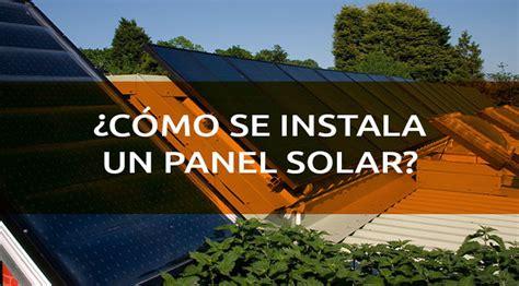 191 c 243 mo se instala un panel solar