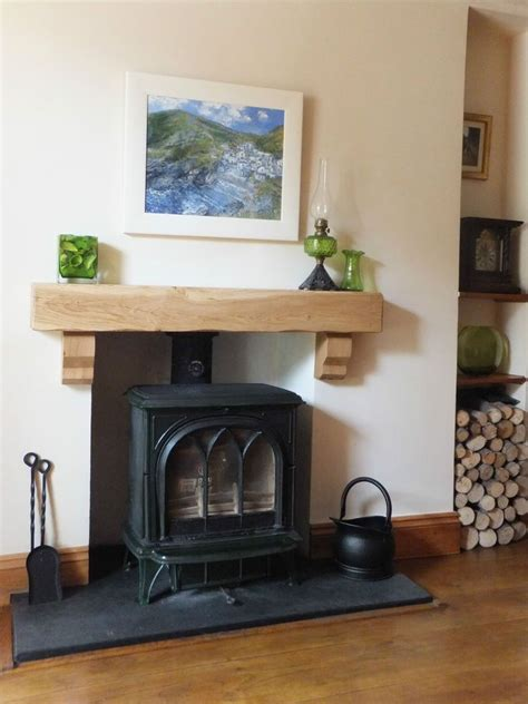 Wooden Corbels For Fireplaces by Solid Oak Beam Corbels Fireplace Mantle Floating Beam