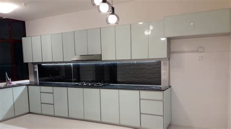 Fully Aluminium Kitchen Cabinet Installation (4 hours