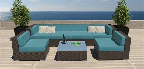 rattan patio sofa set contemporary outdoor sofas bed