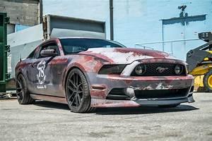 Rust Wrapped Mustang Is Certainly Unique - The Mustang Source