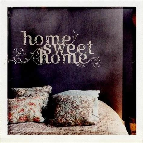 Home Sweet Home Deco by Sticker Mural Home Sweet Home D 233 Co Stickers Et Papiers Peints Design From