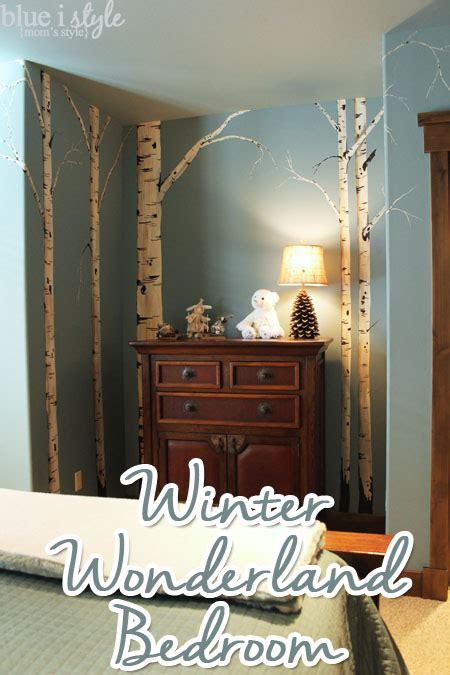 moms style winter wonderland bedroom  breckenridge