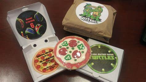 teenage mutant ninja turtles tmnt party invitations