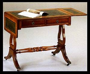 Mobilier En Anglais : bureau style anglais lyre en bois de meriiser meubles bureau anglais mobilier de salon et ~ Melissatoandfro.com Idées de Décoration