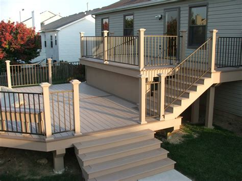Wood Porch Railing Systems by Deck Railings Deck Railing Systems Wood Composite
