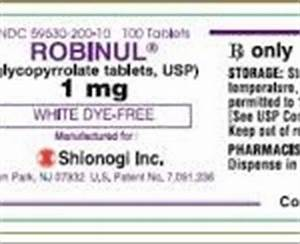Robinul for excessive sweating - Hyperhidrosis Network