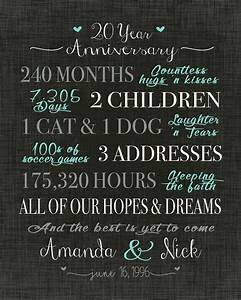 best 25 20 wedding anniversary ideas on pinterest 50th With 20 wedding anniversary gifts