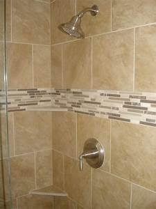 90's Master bath shower remodel - Traditional - Bathroom