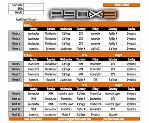 P90X3 Calendar - Your Fitness Path