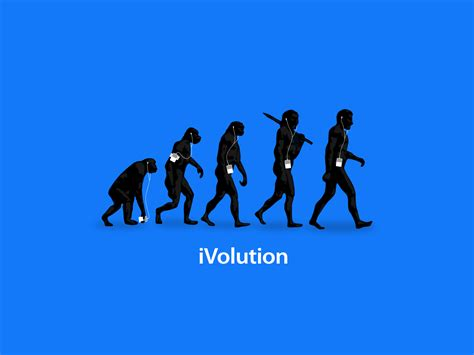 Evolution Wallpaper by Ipod Evolution Wallpaper 1600x1200 Wallpoper