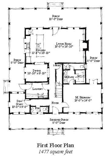 Historic Style House Plan 73859 with 3 Bed 4 Bath