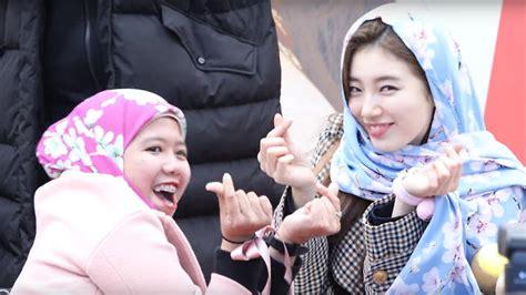 suzy wears hijab   muslim fan sbs popasia