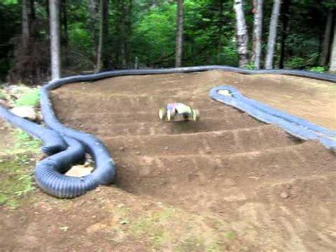 Backyard Rc Track by Vince Rc Backyard Track T4 1 Jump