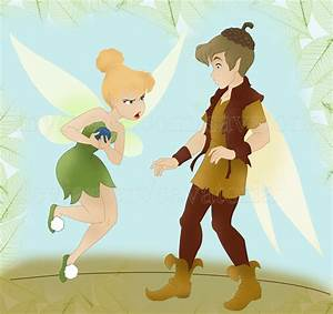 Tinkerbell and Terence by Savatoria on DeviantArt