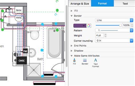 creating  residential plumbing plan conceptdraw helpdesk