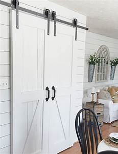double door barn door hardware kit With barn door hardware for two doors
