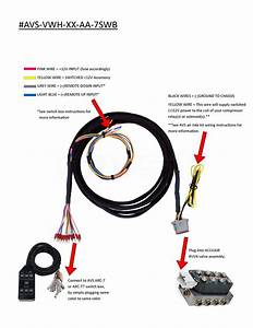 Avs Valve Wiring Harness 10 U0026 39   15 U0026 39   20 U0026 39  - Accuair Vu4 Valve To Avs 7-switch Box