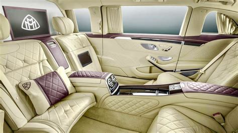 Duo tone aragonite silver + anthracite blue. 2018 Mercedes-Maybach S600 Pullman - The BEST of the BEST ...