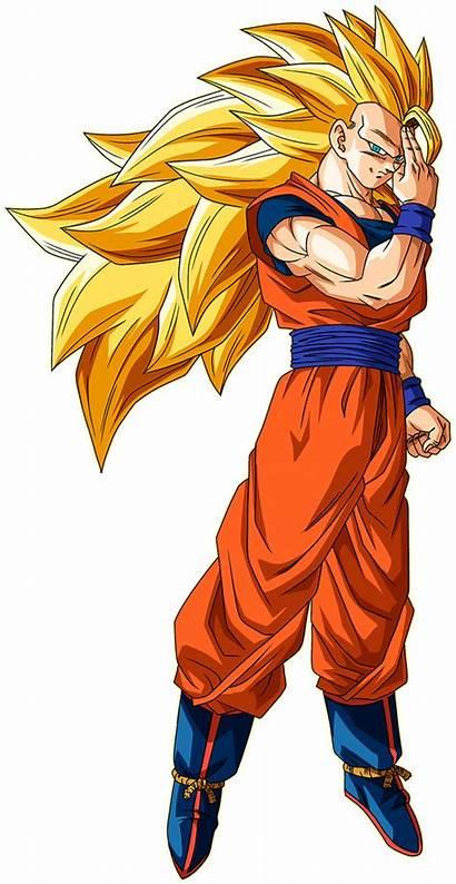 Goku Ssj3 Render Ssj Deviantart Dragon Ball