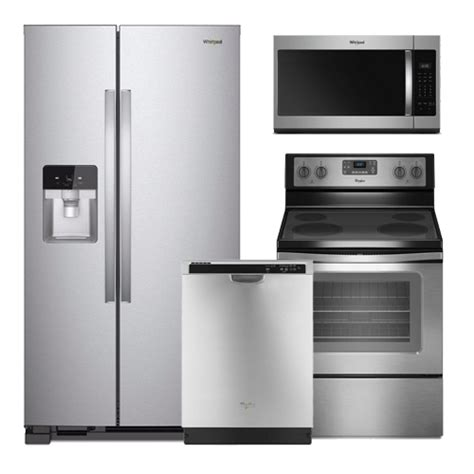 Discount Package Whirlpool Stainless Steel Kitchen Package