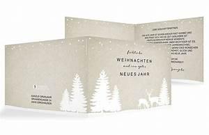 Text Für Weihnachtskarten Geschäftlich : weihnachtskarten waldzauber ~ Frokenaadalensverden.com Haus und Dekorationen