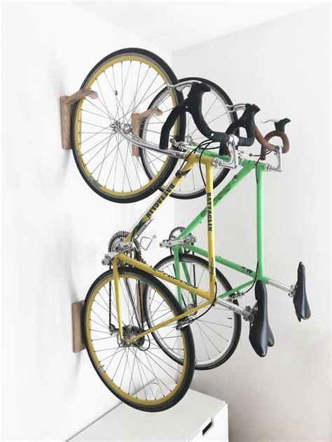 tokyo bike rack wall mount wooden wall hook bike storage etsy bike rack wall bike