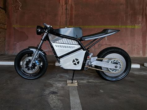 Union Motion Unveils The 'phaser Type 1' Electric Motorcycle