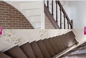 Peindre Escalier En Bois : sup rieur peindre un escalier en gris 1 repeindre un ~ Dailycaller-alerts.com Idées de Décoration
