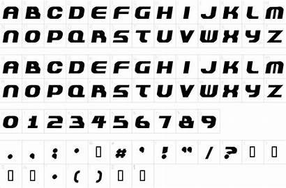 Font 1001freefonts Character Map Plastique Fonts 1001