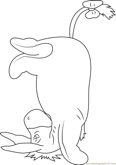 eeyore coloring page  eeyore coloring pages