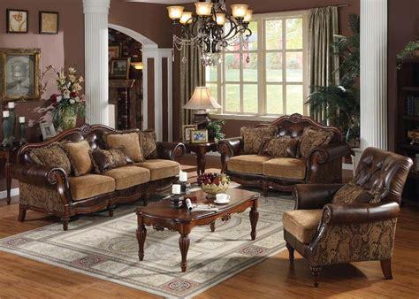dreena set  pcs sofa loveseat chair leather chenille