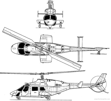 Blueprints> Helicopters > Bell