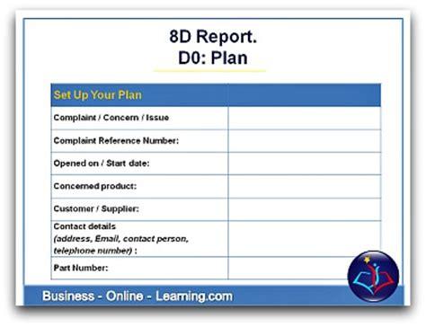 report plan hints  advice  preparing
