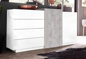 Sideboard Weiß Hochglanz 180 Cm : tecnos sideboard breite 150 cm online kaufen otto ~ Indierocktalk.com Haus und Dekorationen