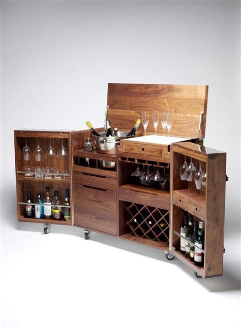 Portable Bar Furniture by Las Cajas De Acero Por Naihan Li Bars Barschrank