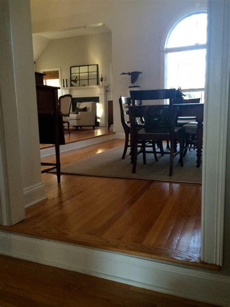 treacherous step   living room  dining room