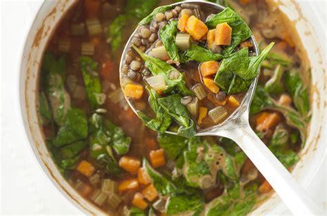 Slow Cooker Mediterranean Lentil Soup