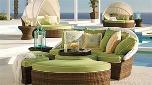 plus de 100 idees de salon de jardin en resine bois ou metal With tapis exterieur avec lit escamotable et canapé