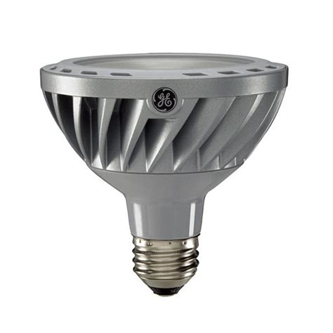 ge 12w par30 led bulb dimmable flood 860lm soft white l