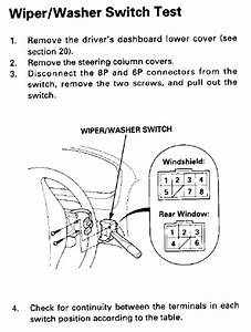 Wiper Motor Wiring Question - Honda-tech