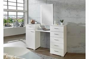 Miroir De Chambre : coiffeuse avec miroir meuble de chambre pour commode ~ Teatrodelosmanantiales.com Idées de Décoration