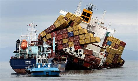 Stricken Cargo Ship Off New Zealand Coast Spills Oil