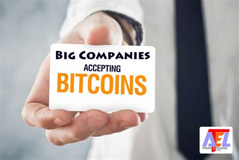 What Businesses Accept Bitcoin by List Of Companies That Accept Bitcoin Cryptocurrencies